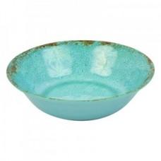 Blue Casablanca Melamine Bowl 350x350x70mm 3.5L