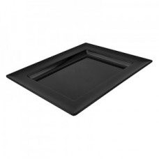 Black Melamine Dover Tray 310x250x30mm 450ml