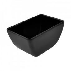 Black Melamine Dover Pot 150x100x80mm 0.7L
