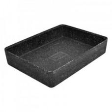 Kata Black Melamine Crock 520x346x70mm 8.9L